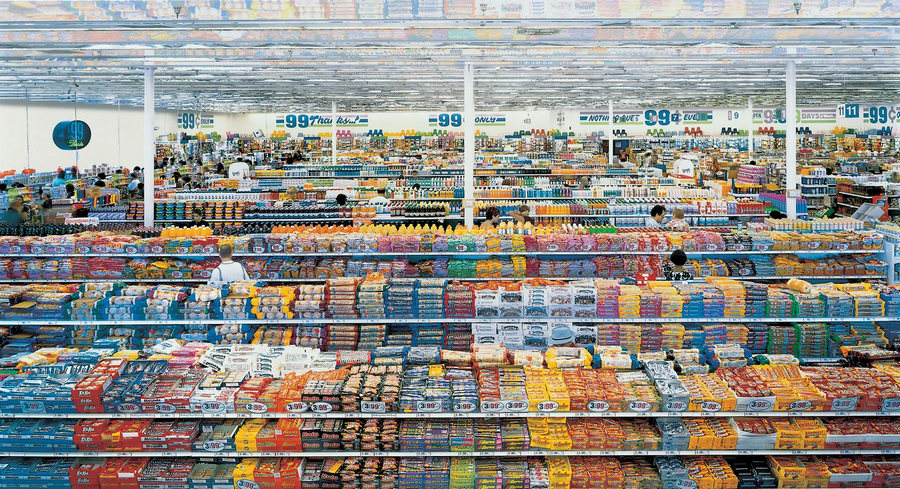 99 Cent - Andreas Gursky 1999