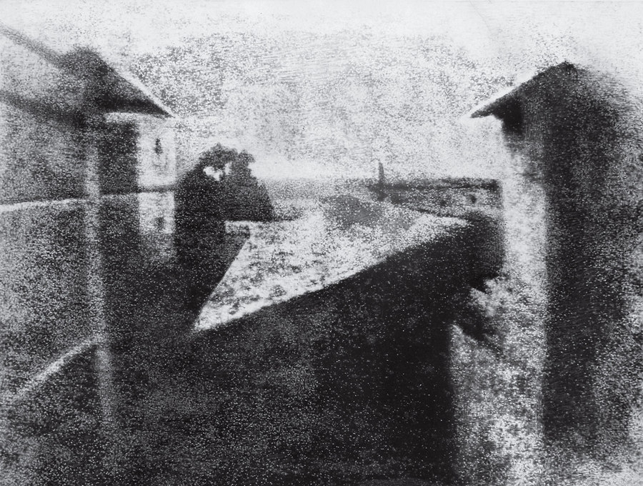 View from the Window at Le Gras Joseph Nicéphore Niépce circa 1826